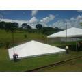 Tenda Pirâmide 10x10 Em Lona Pvc 100% União Tendas