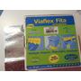 Fita Viapol Viaflex Auto-adesiva Alumínio - 10cm X 10m