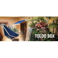 Toldo Retratil - Modelo Box - Lona Sansuy Exclusive Em Cores