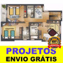 240.000 Projetos De Arquitetura Engenharia Casa Plantas