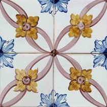 12 Adesivos Imitando Azulejos Decorativos Portug. 15 X 15cm