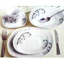 Aparelho De Jantar 42pçs Branco