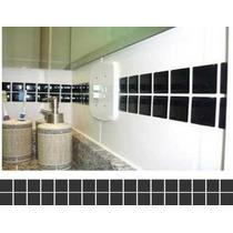 40 Unidades De Adesivo Pastilhas- Parede - Faixas - Azulejo