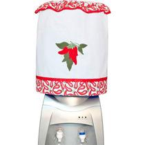 Capa De Galao De Agua Patchwork Bordado - 20 Litros