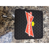 Porta Copo Budweiser Emborr. Kit C/ 4unid Frete Grátis
