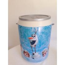 Coolers 12 Latas Personalizados Aniversário Brindes Frozen