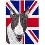 Bull Terrier Com Union Engish Jack Bandeira Britânica De Vi