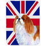 Inglês Spaniel De Brinquedo Com Inglês Union Jack Bandeira