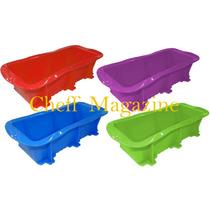 Forma De Silicone Para Pão Ou Bolo Inglês Tamanho 22 X 6cm