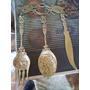 Tralheres De Bronze Olandez Para Ornamentaçao