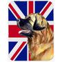 Leonberger Com Placa De Estaca Inglês Union Jack Bandeira B
