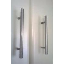 Puxador De Aluminio Escovado Para Móveis R$4,50