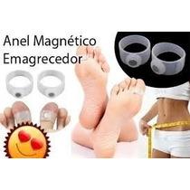 Anél Emagrecedor Magnético Silicone 1par/2peças