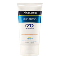Protetor Solar Neutrogena Sun Fresh Fps 70 Com 120 Ml