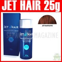 Jet Hair 25g Ruivo Maquiagem Capilar Queratina Toppik Hair