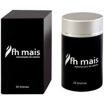 Fh Mais 25g Castanho Escuro Tipo Toppik Hair Fast Real