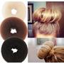 Esponja Donut Hair - Pronta Entrega ! Preto/marrom/lloiro