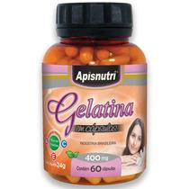 Gelatina 400mg 60 Cápsulas - Apisnutri