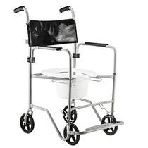 Cadeira De Rodas Para Banho E Sanitária - Jaguaribe