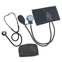 Kit Esfigmomanômetro + Estetoscópio Medidor Pressão Solidor
