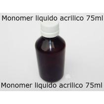 Kit Material Unhas Porcelana Liquido Acrilico + Pó Acrilico