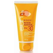 Protetor Solar Facial Avon Sun Fps 30 - 50 G
