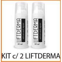 Liftderma -100% - Kit C/ 2 Fscos. Frete Grátis Sul E Sudeste