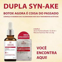 Adcos Mascara Facial Syn-ake + 02 Sérum Potencializador
