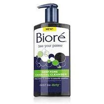 Biore Charcoal Cleanser - Pronta Entrega