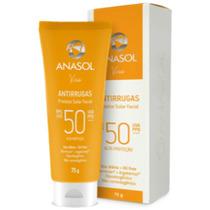 Protetor Solar Facial Antirrugas Oil Free Fps 50 75g -anasol