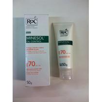 Protetor Solar Roc Minesol Oil Control Fps70 50g