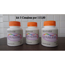 Kit 3 Cenaless (180 Capsulas)