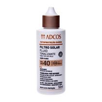 Filtro Solar - Loção Fluida Beige Fps 40 Com 50ml Adcos