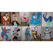 Personagens Para Festas (displays De Mdf)