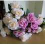 *301* Flor Artificial Buque De Rosa