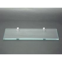 Prateleira De Vidro Retangular 25x10 Incolor
