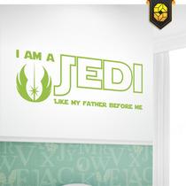 Adesivo Decorativo - I Am A Jedi - Tamanho P