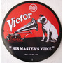 Placas Decorativas Rca Victor Radio Vitrola Elvis Estudio