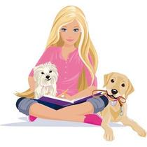 Adesivo Barbie Decoração De Quarto E Outros Ambientes