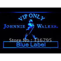 Painel Luminoso Johnnie Walker Placa De Neon - Frete Gratis
