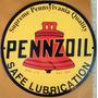 Placas Decorativas Posto Pennzoil Gasolina Oleo Vintage