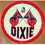 Placas Decorativas Posto Gasolina Dixie, Oil, Gas, Usa Old