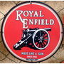 Placas Decorativas Moto Royal Enfield Antiga Vintage Logo