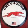 Placas Decorativas Onibus Greyhound Carros Antigos Vintage