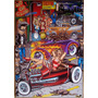 Placas Decorativas Hot Rod Old School Pin Ups Rock And Roll
