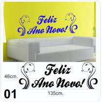 Adesivo Decorativo De Parede, Lindos Kits De Ano Novo,