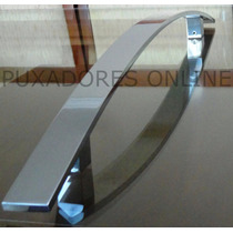 Puxador Aluminio, Inox Para Porta De Vidro, Madeira Ou Ferro