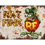 Placas Decorativas Rat Fink Hot Rod, Rat Rod, Muscle Car