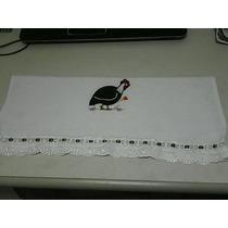 Semaninha Pano De Prato Bordados,personalizado,bordadoingles