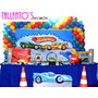 Decoração Festa Infantil Hot Wheels 2 (locação)